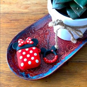2 for 15! Adorable Minnie Mouse AirPods skin